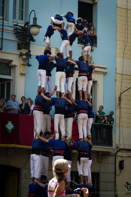 Castellers-colla-gracia- © Clara.GO-