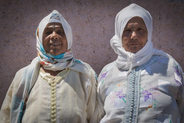 Las chicas son guerreras - marooco women - © Clara G.O