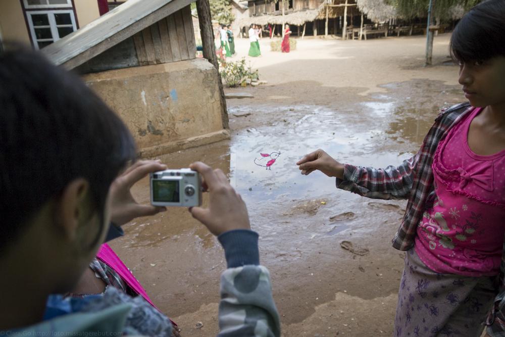 © Clara.Go-Cartoons & Plastic Photography Workshop in Taung Ywar Thit - Myanmar
