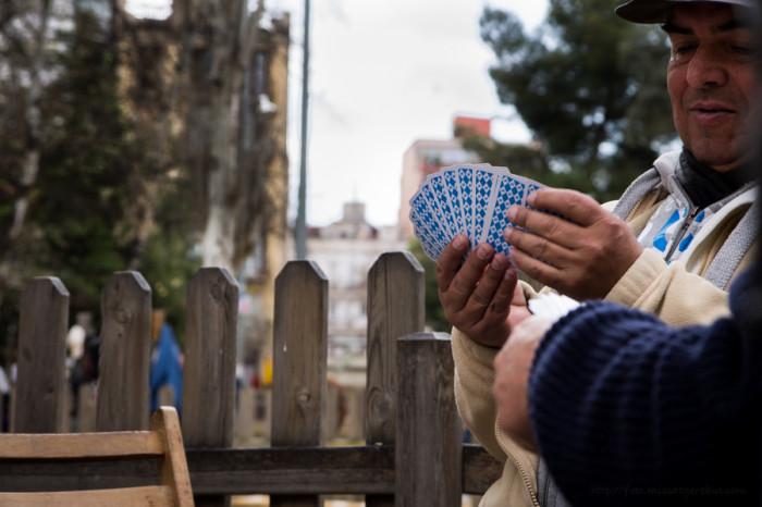 Oci i gent gran a Barcelona © Clara.GO